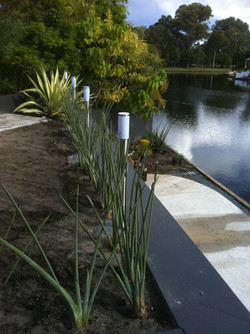 Electrical Outdoor Lighting by Canal