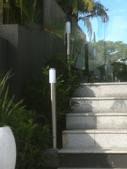 Electrical Outdoor Lighting by Pool