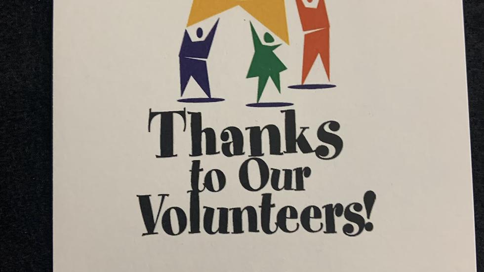 Volunteer cards