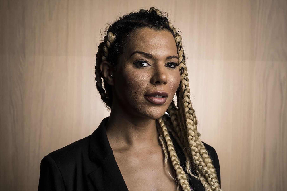 Trans Activist and former L'Oreal model Munroe Bergdorf held the company to account over their BLM stance