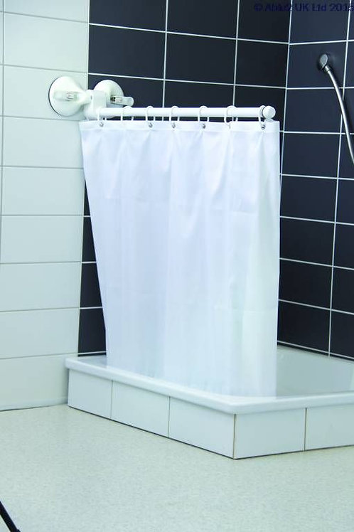 Mobeli Shower or Bath Curtain Screen - with curtain VAT EXEMPT