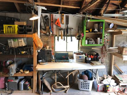 11. A well organized shop makes a well organized mind.