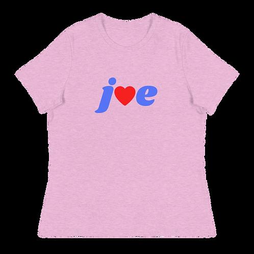 """""""Love"""" Joe - Women's Relaxed T-Shirt"""