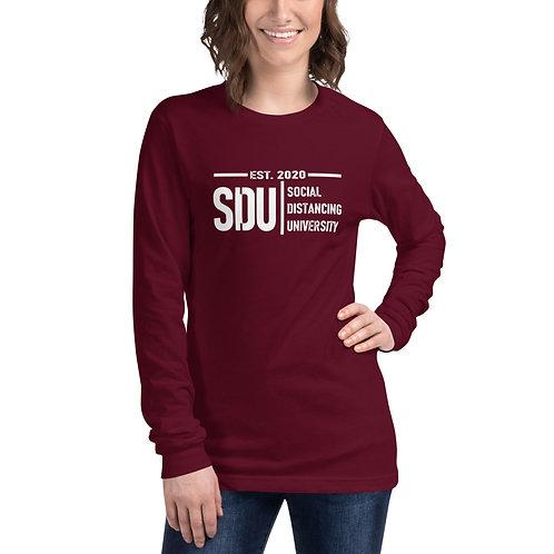 SDU Social Distancing University Women's Long Sleeve Tee
