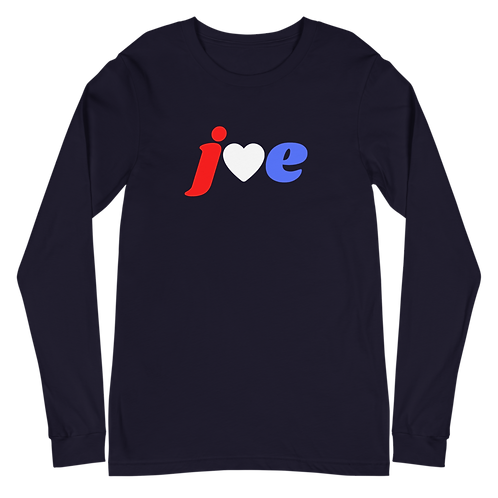 """Love"" Joe - Unisex Long Sleeve Tee"
