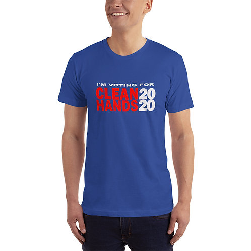 I'm Voting For Clean Hands T-Shirt