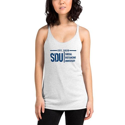 SDU Social Distancing University Women's Racerback Tank