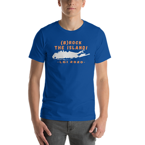 (B)ROCK THE ISLAND - LGI 2020 - Short-Sleeve Unisex T-Shirt
