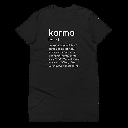 Karma Organic cotton t-shirt dress