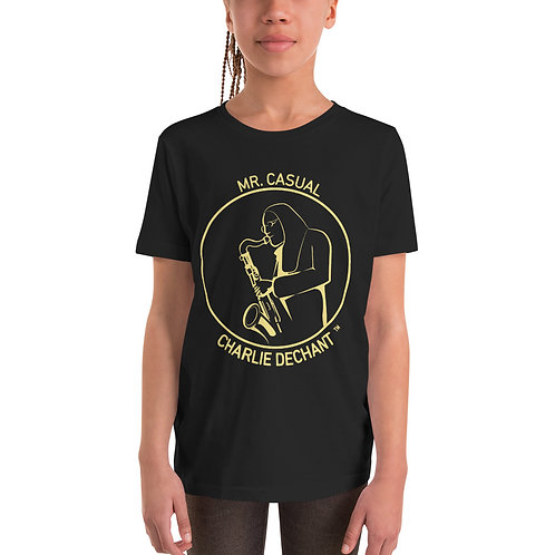 """""""Mr. Casual"""" Youth Short Sleeve T-Shirt"""