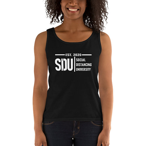 SDU Social Distancing University Ladies' Tank