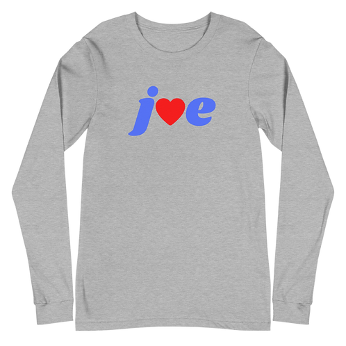 """Love"" Joe - Unisex Long Sleeve Tee"