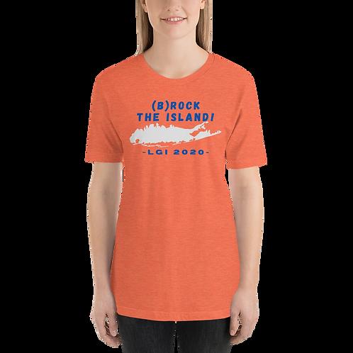 (B)ROCK THE ISLAND - LGI 2020 - Short-Sleeve Unisex T-Shirt