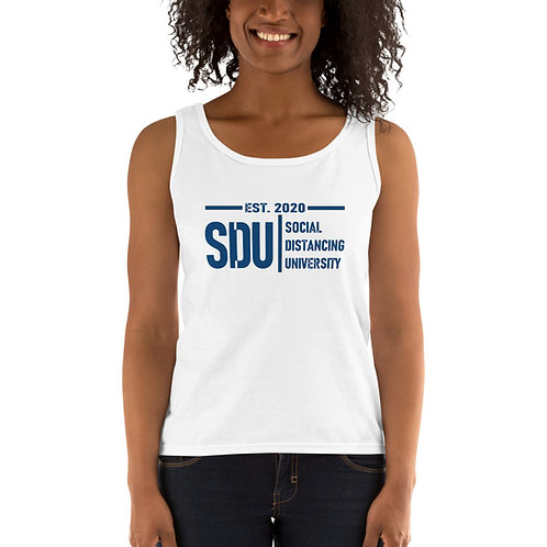 SDU Social Distancing University Ladies' Tank