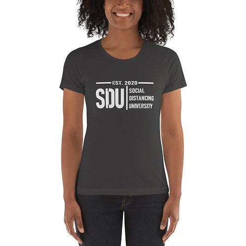 SDU Social Distancing University Women's t-shirt