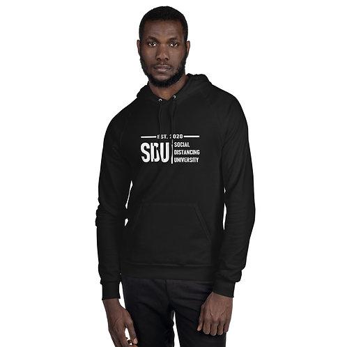SDU Social Distancing University Men's Fleece Hoodie
