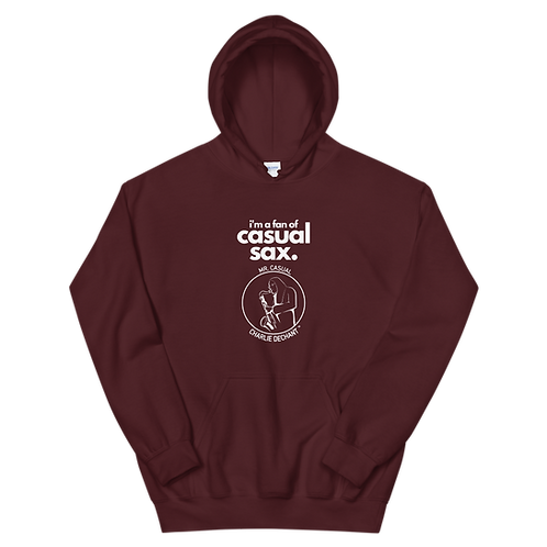 "Mr. Casual ""Casual Sax"" Unisex Hoodie - Winter Collection"