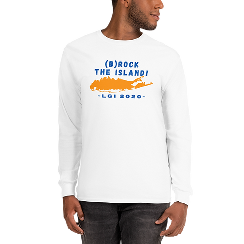(B)ROCK THE ISLAND - LGI 2020 - Men's Long Sleeve Shirt