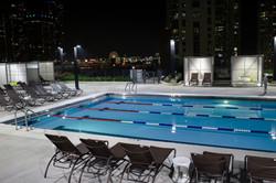 Twilight Outdoor Pool