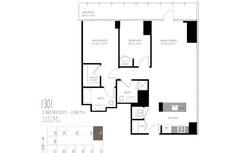 2 Bedroom Layou