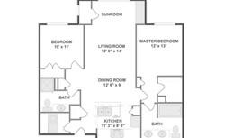 2-Bedroom Layout