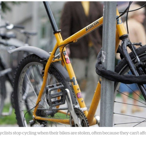 Bike theft is on the rise — but have the police given up on it?