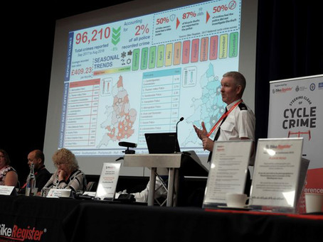 iTrakit @ the 5th National (UK) Cycle Crime Conference 'Let's Pedal Faster'.