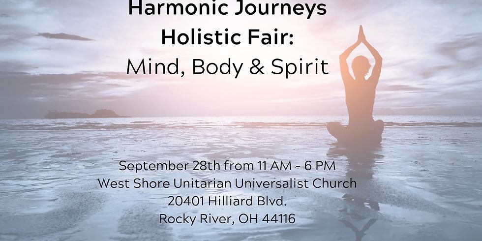 CANCELED - Harmonic Journeys Holistic Fair
