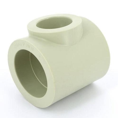 Тройник Ø50-40-50 полипропиленовый  переходной FV Plast