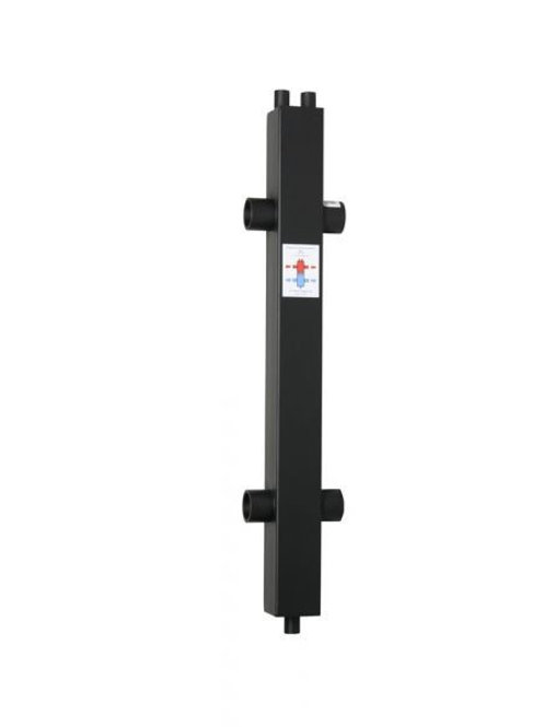 Гидрострелка гидравлический разделитель ГРТК 100/100/40 L 290 кВт