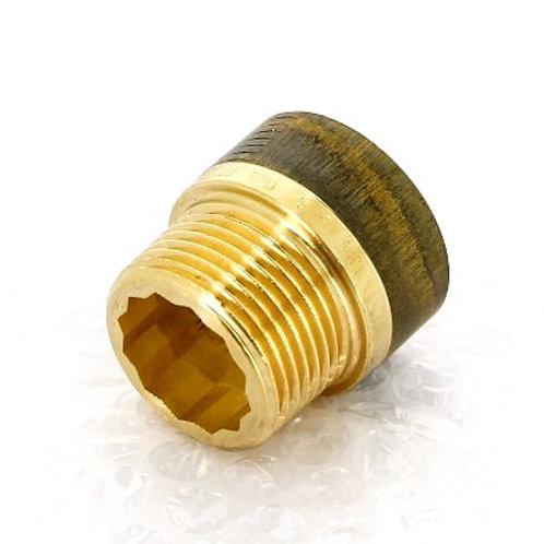 """Удлинитель бронзовый 1"""" Viega 20 мм арт.440 589"""