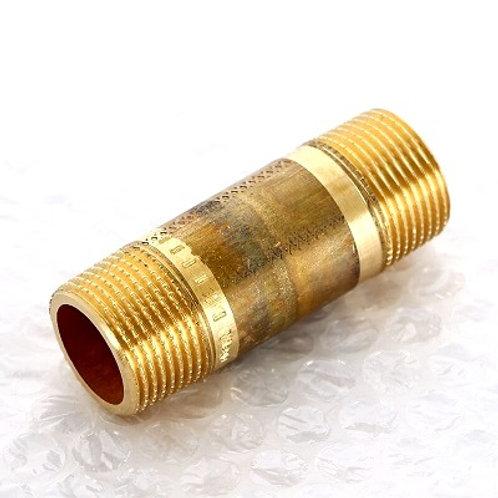 """Удлинитель бронзовый НР-НР 3/4"""" Viega 60 мм арт.267 391"""