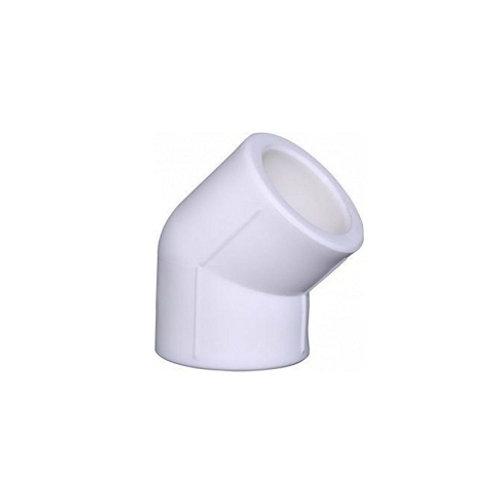 Уголок полипропиленовый 25 мм 45° PP-R