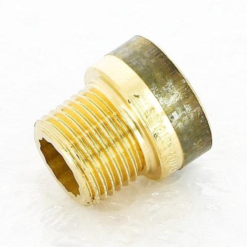 """Удлинитель бронзовый 1/2"""" Viega 15 мм арт.651 121"""