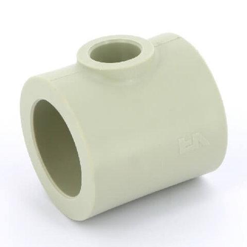 Тройник Ø40-20-40 полипропиленовый  переходной FV Plast
