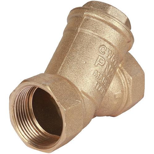 Фильтр сетчатый муфтовый Dy 15 1/2 Stout (грязевик)