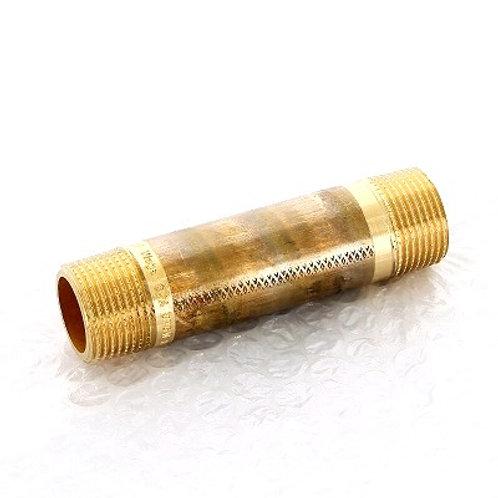 """Удлинитель бронзовый НР-НР 3/4"""" Viega 90 мм арт.650 957"""