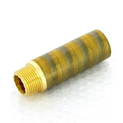 """Удлинитель бронзовый 1"""" Viega 100 мм арт.440 473"""