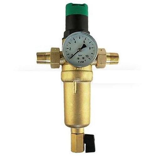 """Фильтр с редуктором давления Ф3/4"""" для горячей воды TIM JH-2007"""