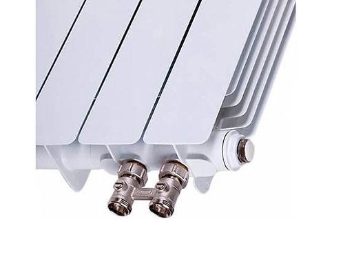 Биметаллический радиатор Rifar Monolit Ventil 500 8 секций