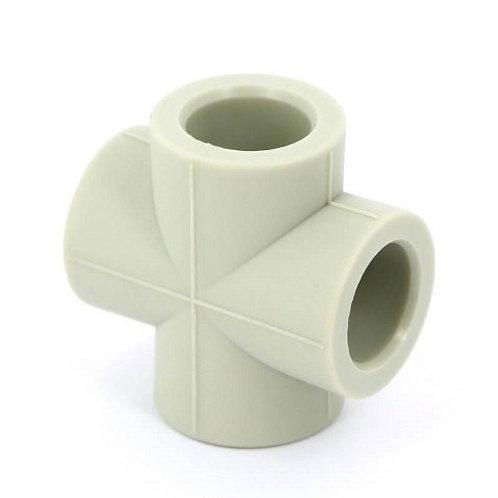 Крестовина полипропиленовая Ø25 FV Plast