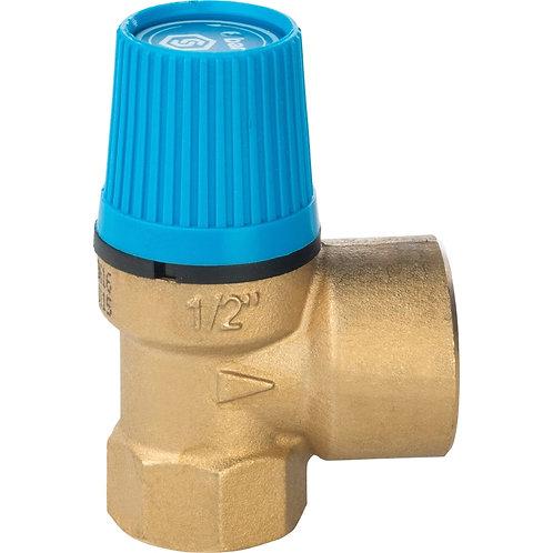 Клапан предохранительный SVH для систем водоснабжения Stout 1/2-3/4 6 bar
