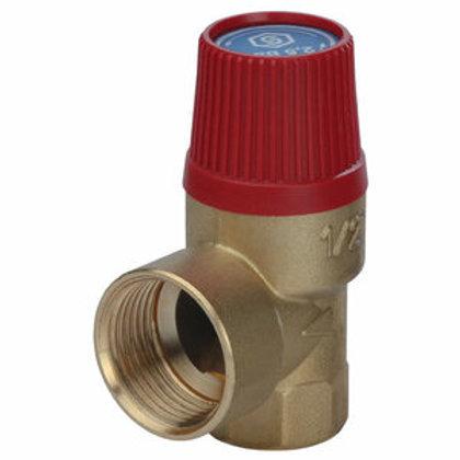 Клапан предохранительный SVH для систем отопления Stout 1/2-3/4 1,5 bar