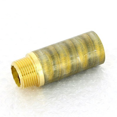"""Удлинитель бронзовый 1"""" Viega 80 мм арт.440 466"""