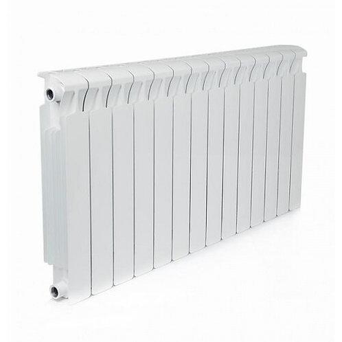 Радиатор биметаллический Rifar Monolit 500 14 секций боковое подключение