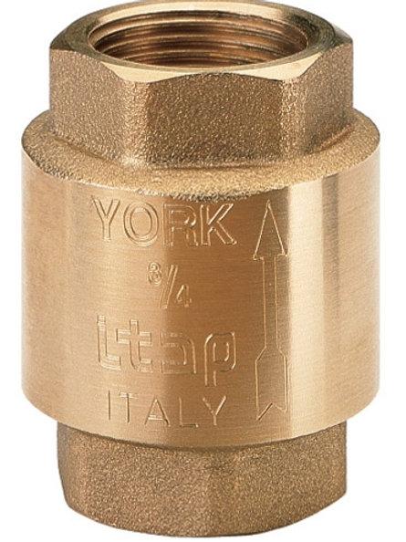 """Обратный клапан пружинный с металлическим седлом Itap Europa 100 1"""""""