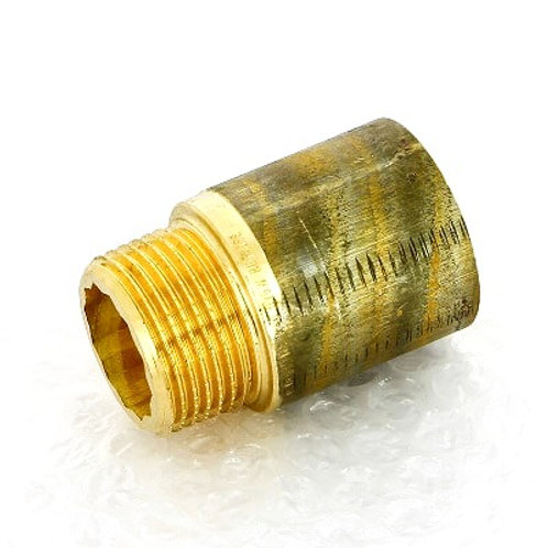 """Удлинитель бронзовый 1"""" Viega 40 мм арт.357 207"""