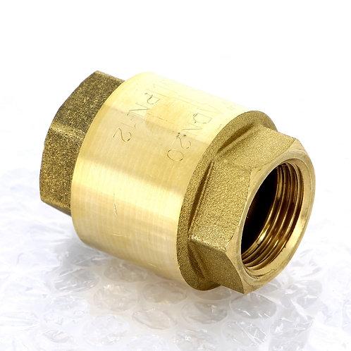 Клапан обратный пружинный EUROPA с металлическим затвором ITAP