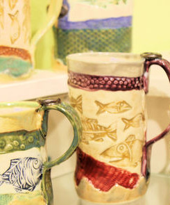 POTTERY BY YOUNG