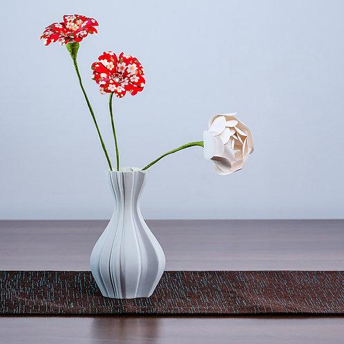 Obiect de design din 3 flori - Sakura roșie-roz